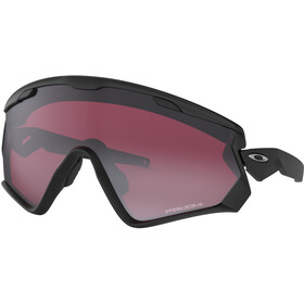 Oakley Wind Jacket 2.0 Sunglasses Unisex Matte Black/Prizm Snow Black Iridium